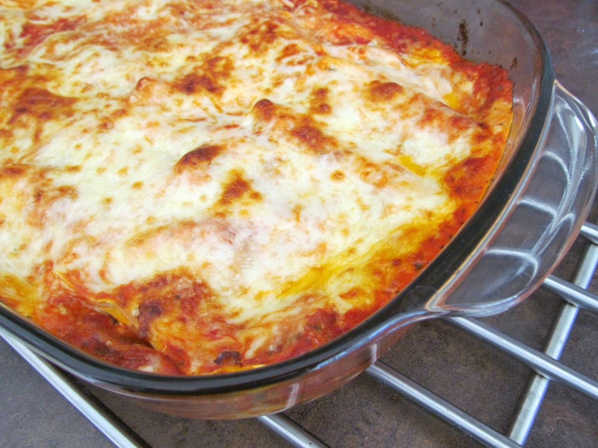 three-cheese lasagna Savormania