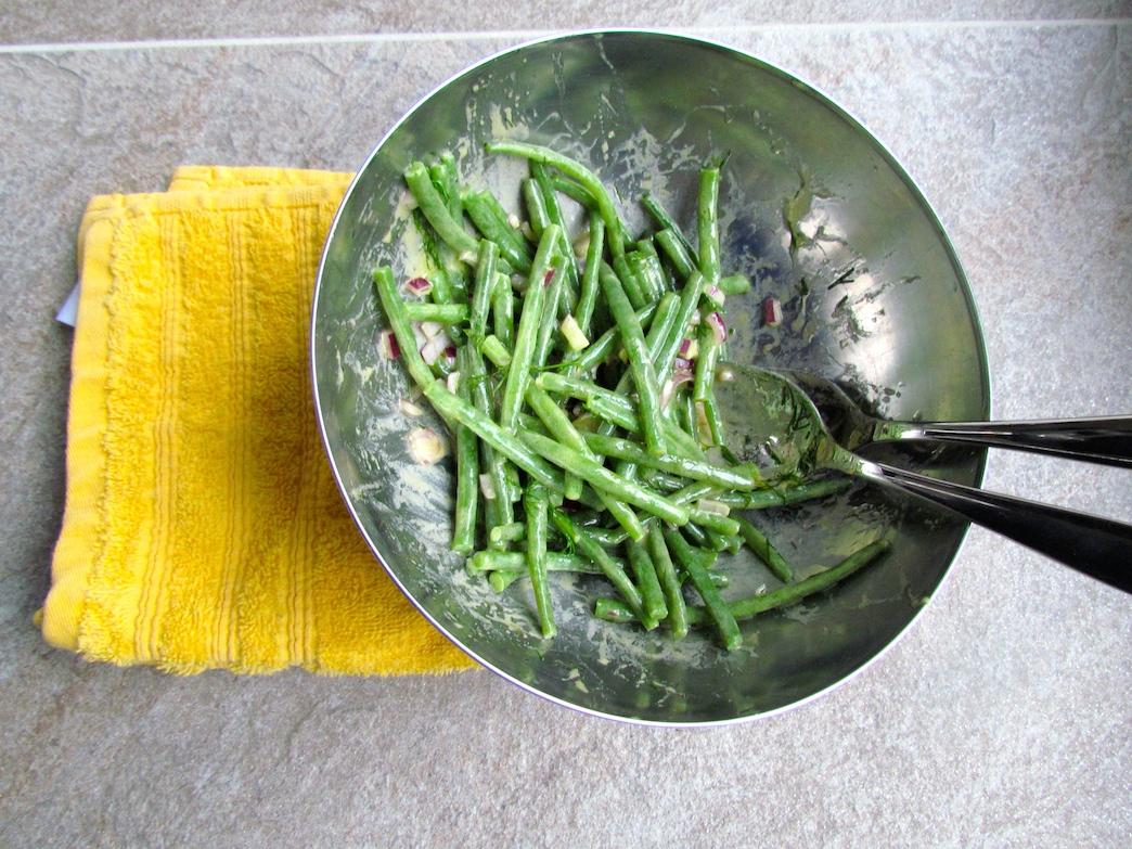 Haricot Vert Salad Salade de Haricots Verts à la