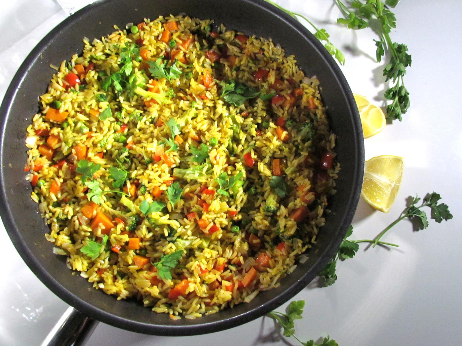 vegetarian paella | www.savormania.com
