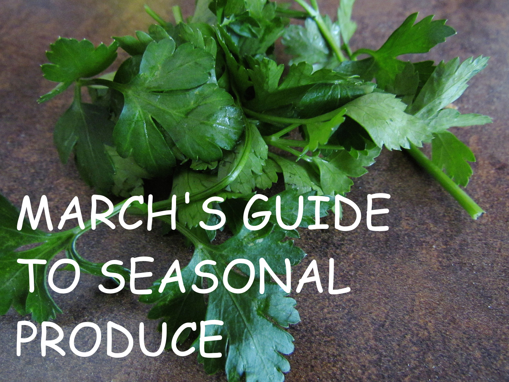 march guide to seasonal produce | www.savormania.com