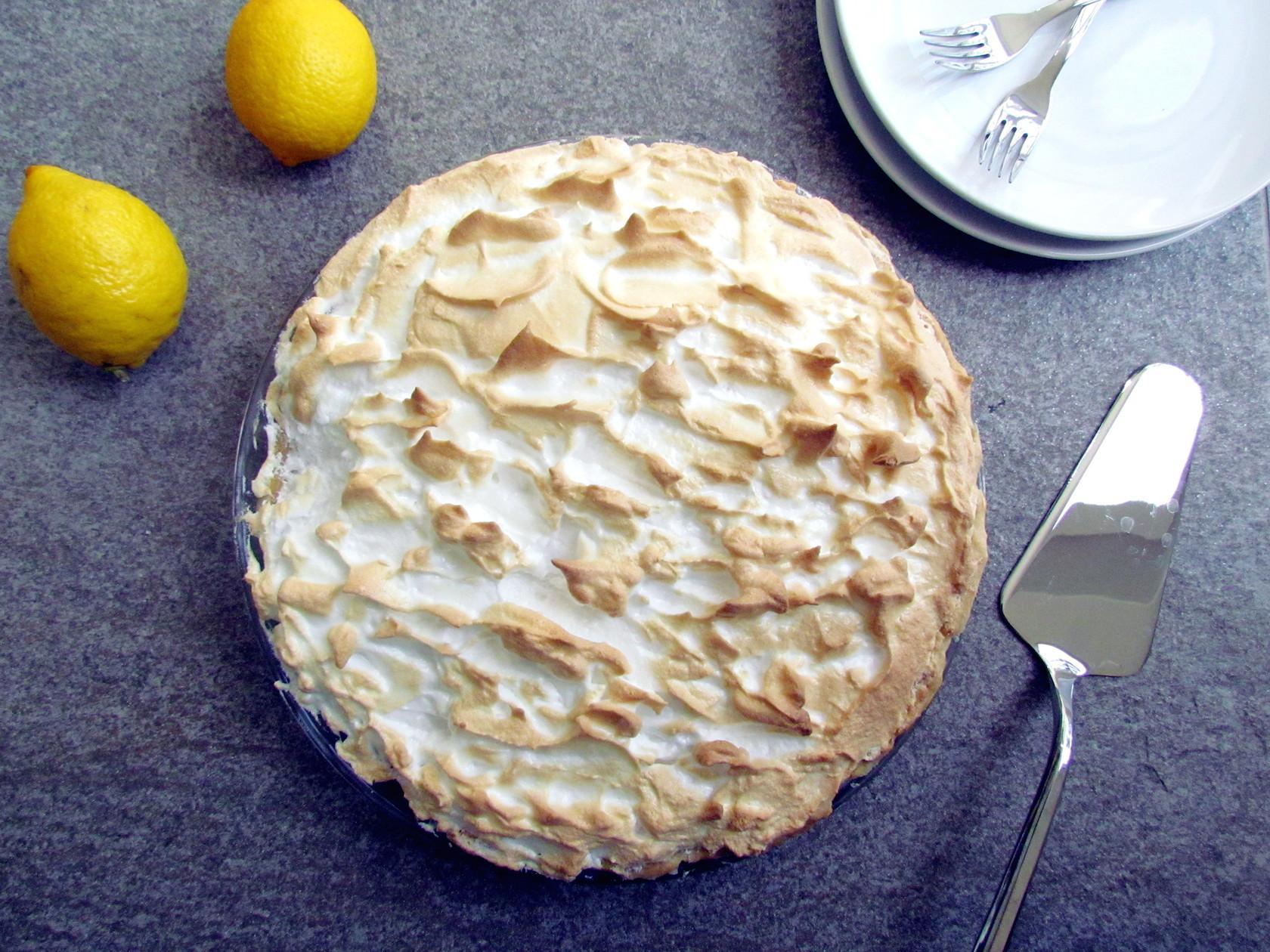 tarte au citron meringuée | www.savormania.com