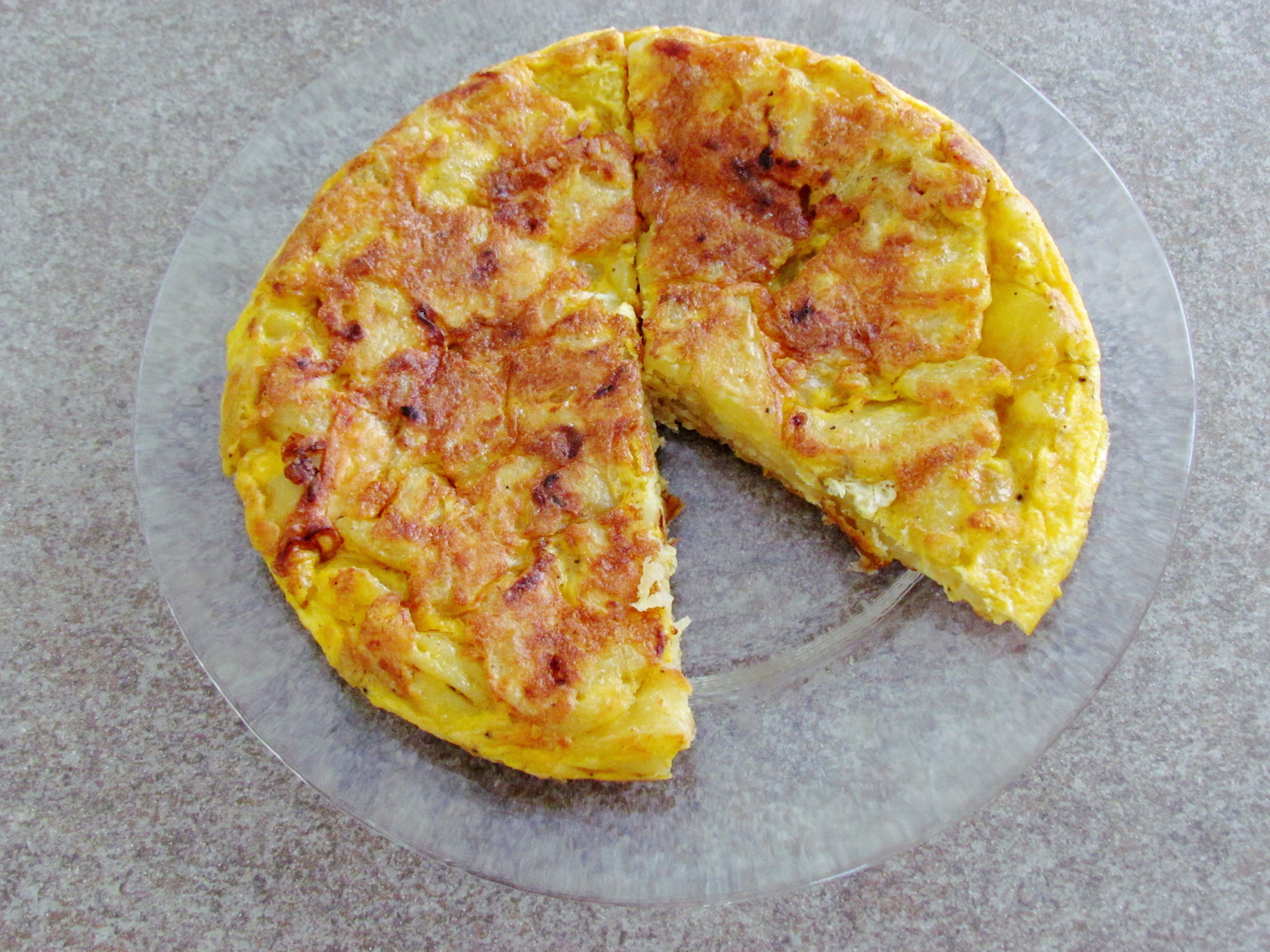 spanish potato tortilla | Savormania