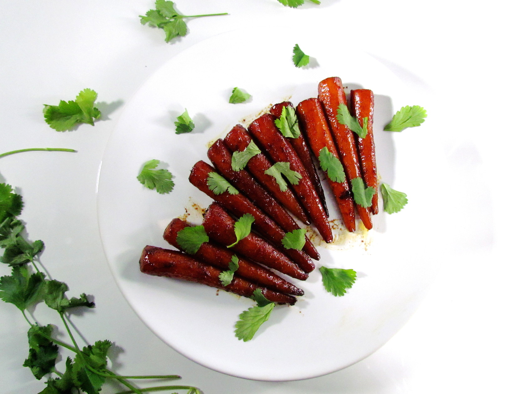 honey soy glazed carrots | www.savormania.com