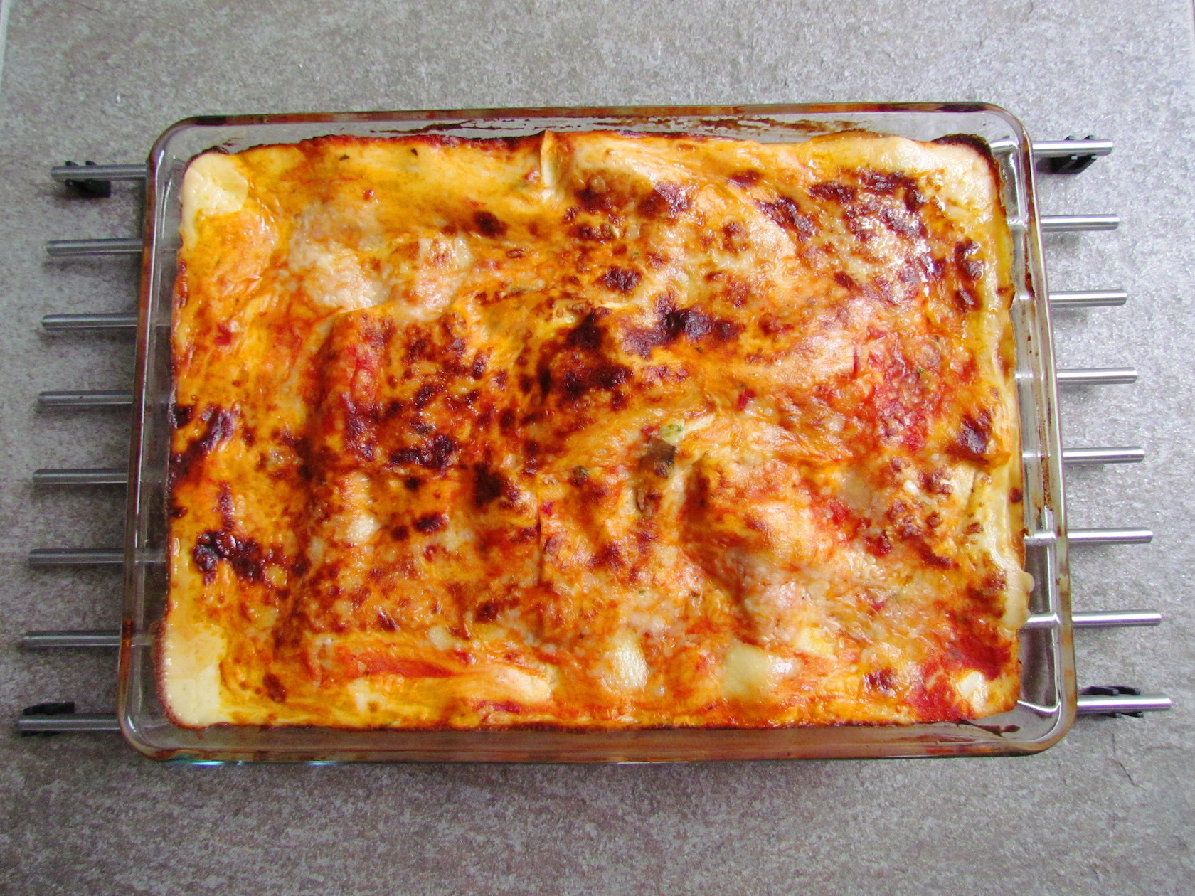 mushroom cheese lasagna | www.savormania.com