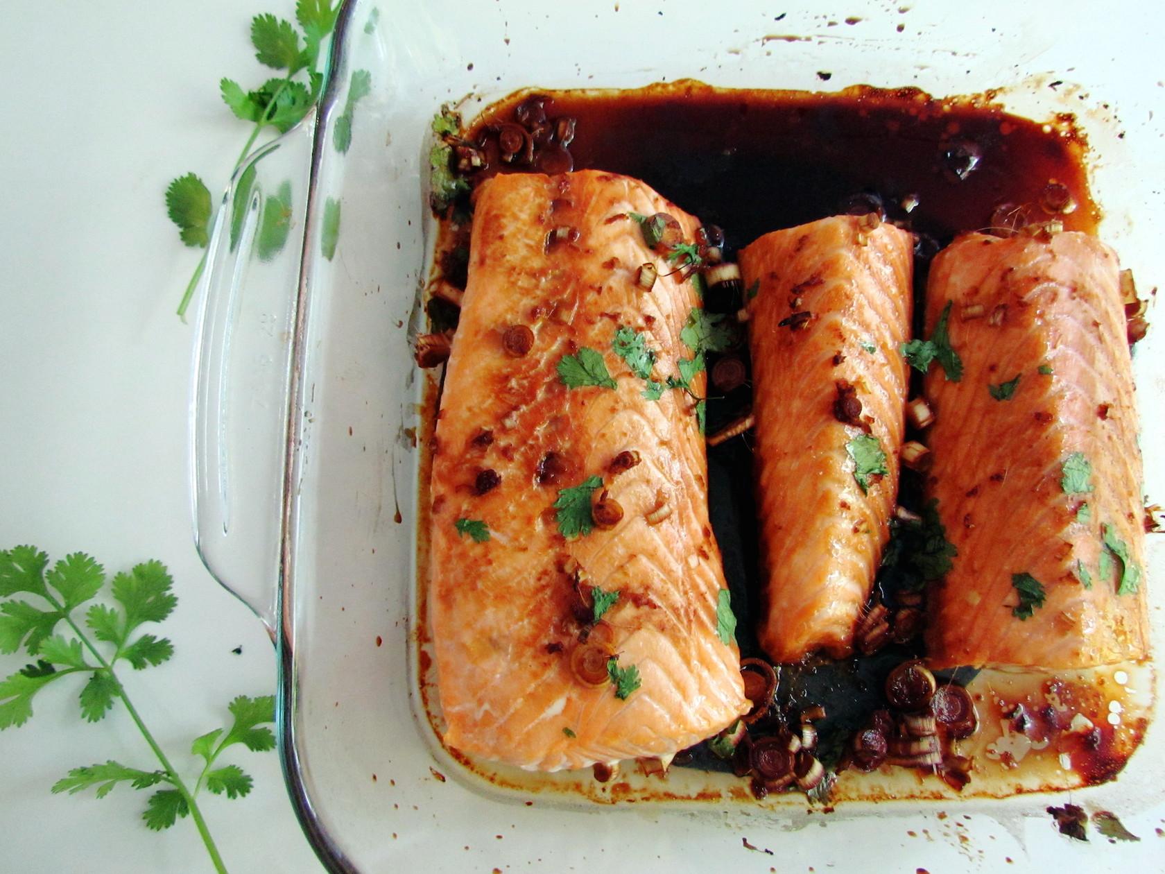 saumon au gingembre et citronnelle | www.savormania.com