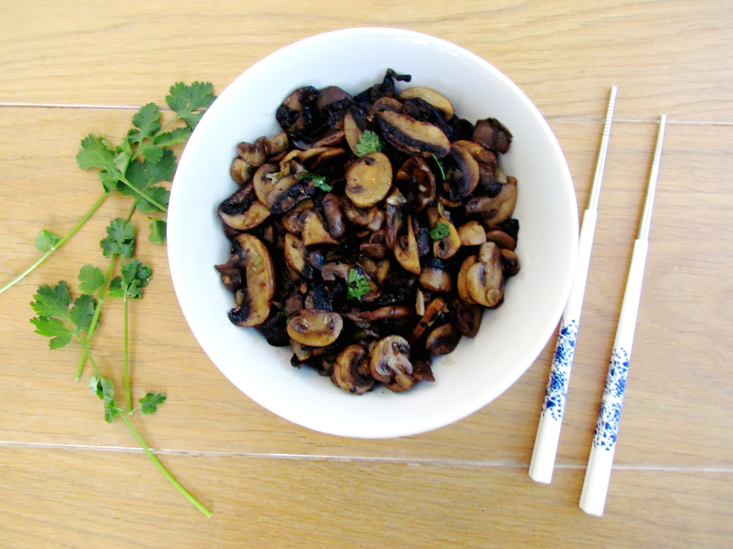 Asian stir fried mushrooms savormania looking of asian inspired recipes ive put them all together to make cooking easier for you click here for all asian recipes forumfinder Gallery