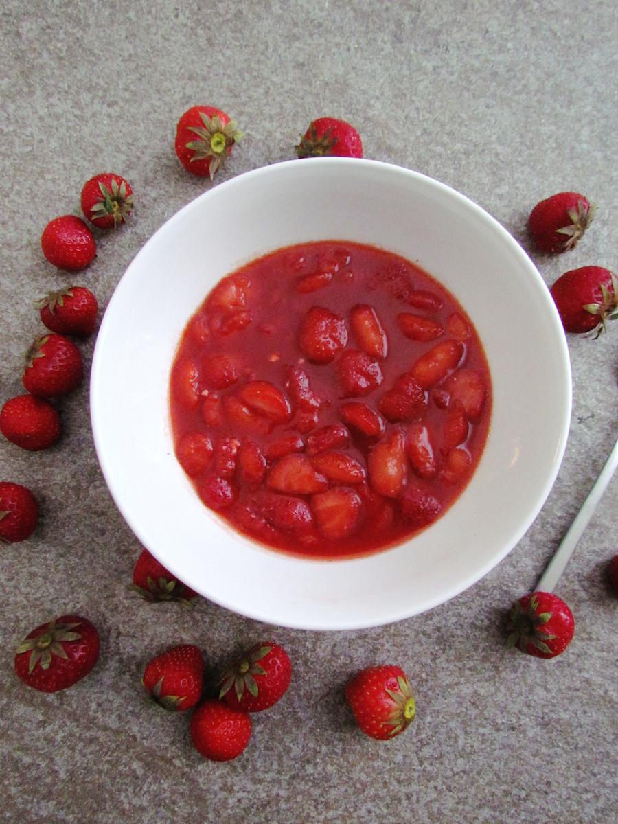 compote à la fraise et vanille | www.savormania.com