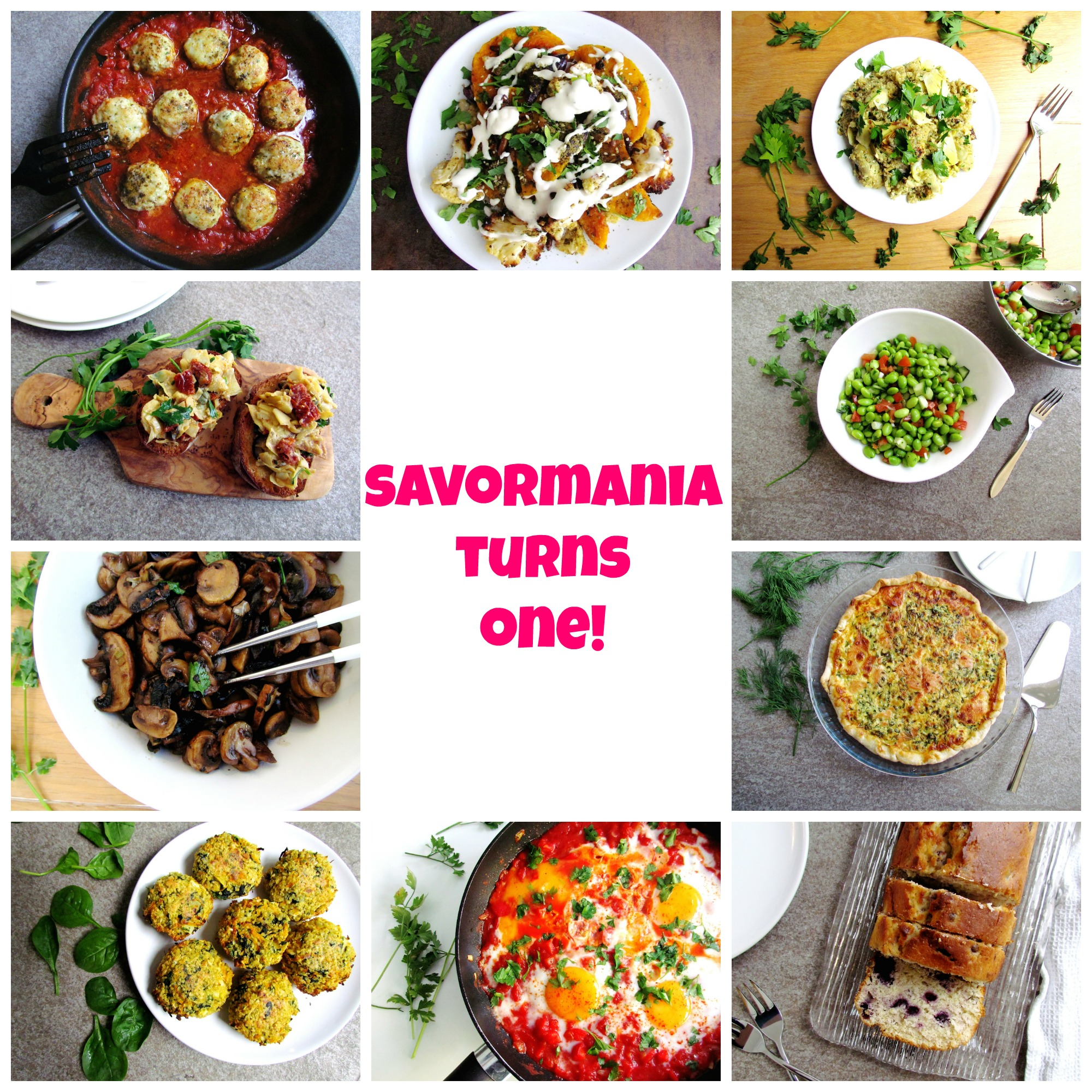 savormania turns one!