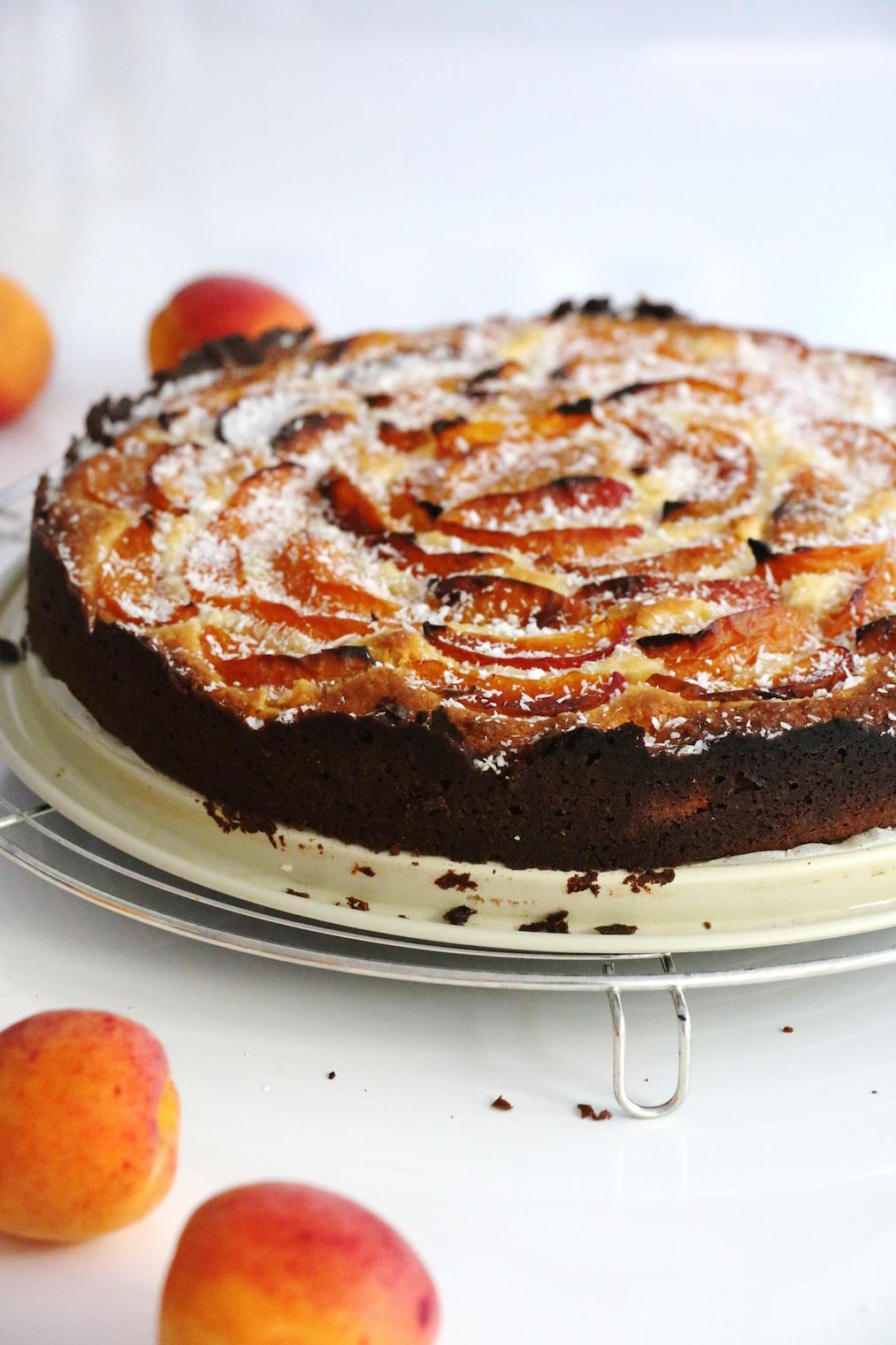 apricot coconut cake | www.savormania.com